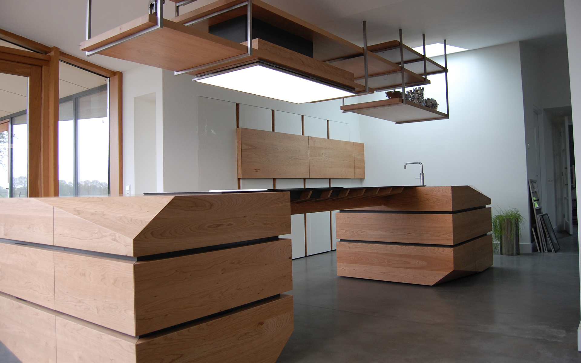 Keuken kersenhout studio sool