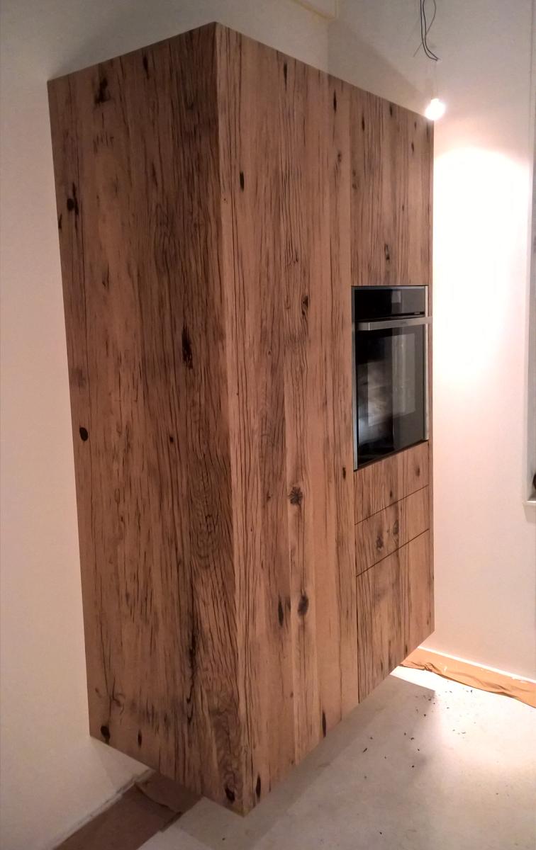 Wagondelen keuken opgeleverd studio sool meubels - Meubels studio keuken ...