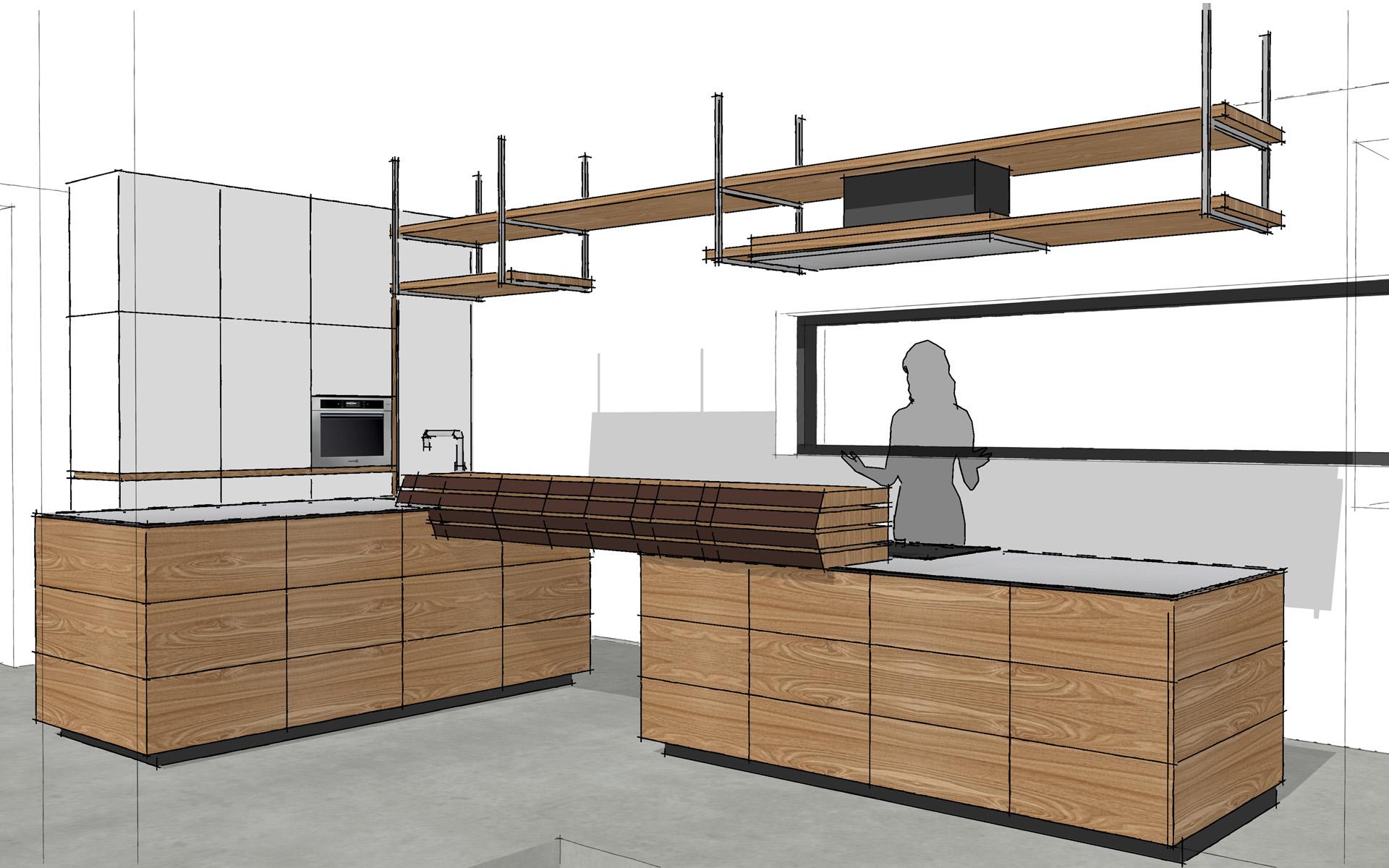 Maatwerk keuken te groningen studio sool meubels - Meubels studio keuken ...