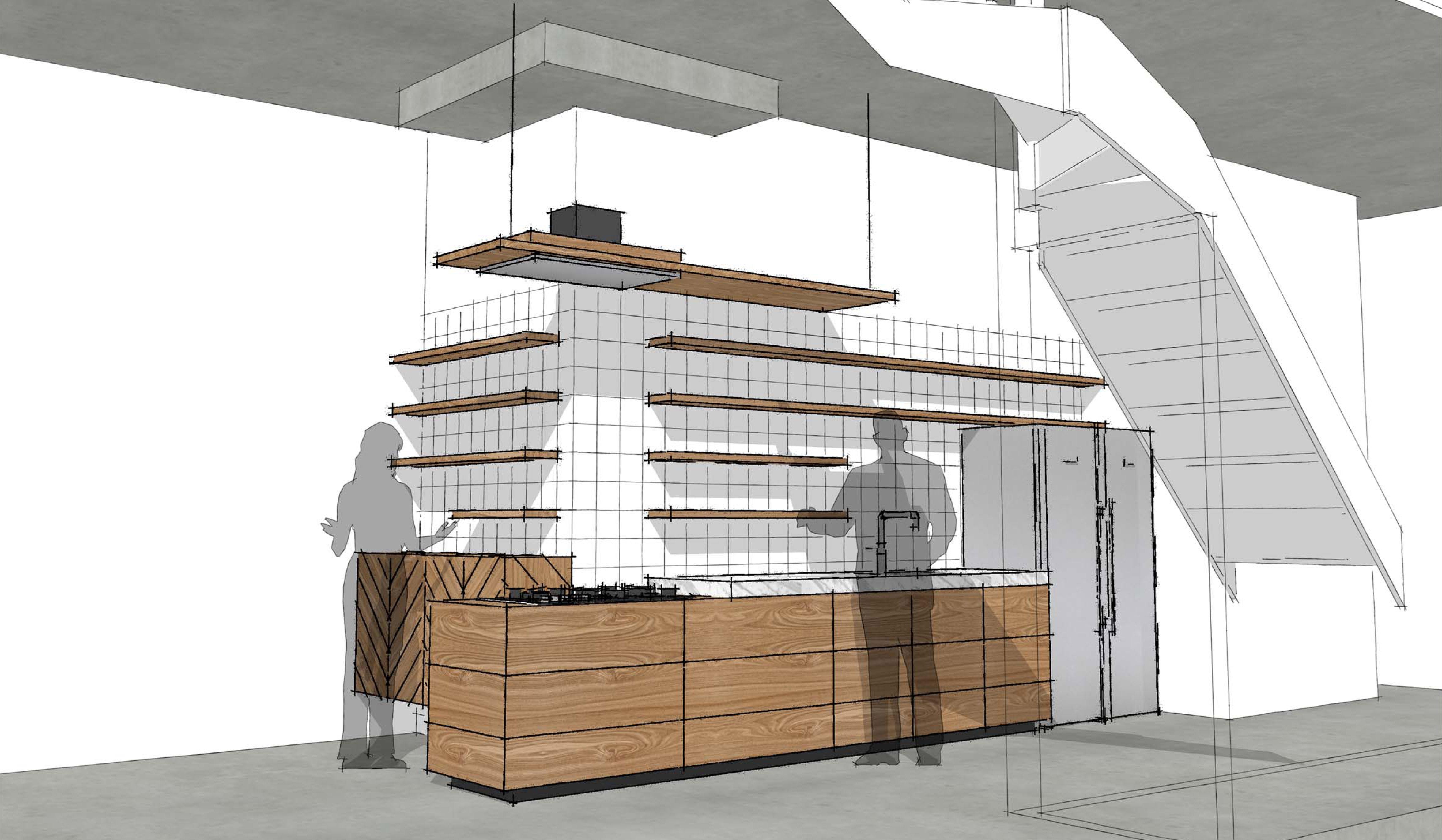 Houten keuken te breda studio sool meubels - Meubels studio keuken ...
