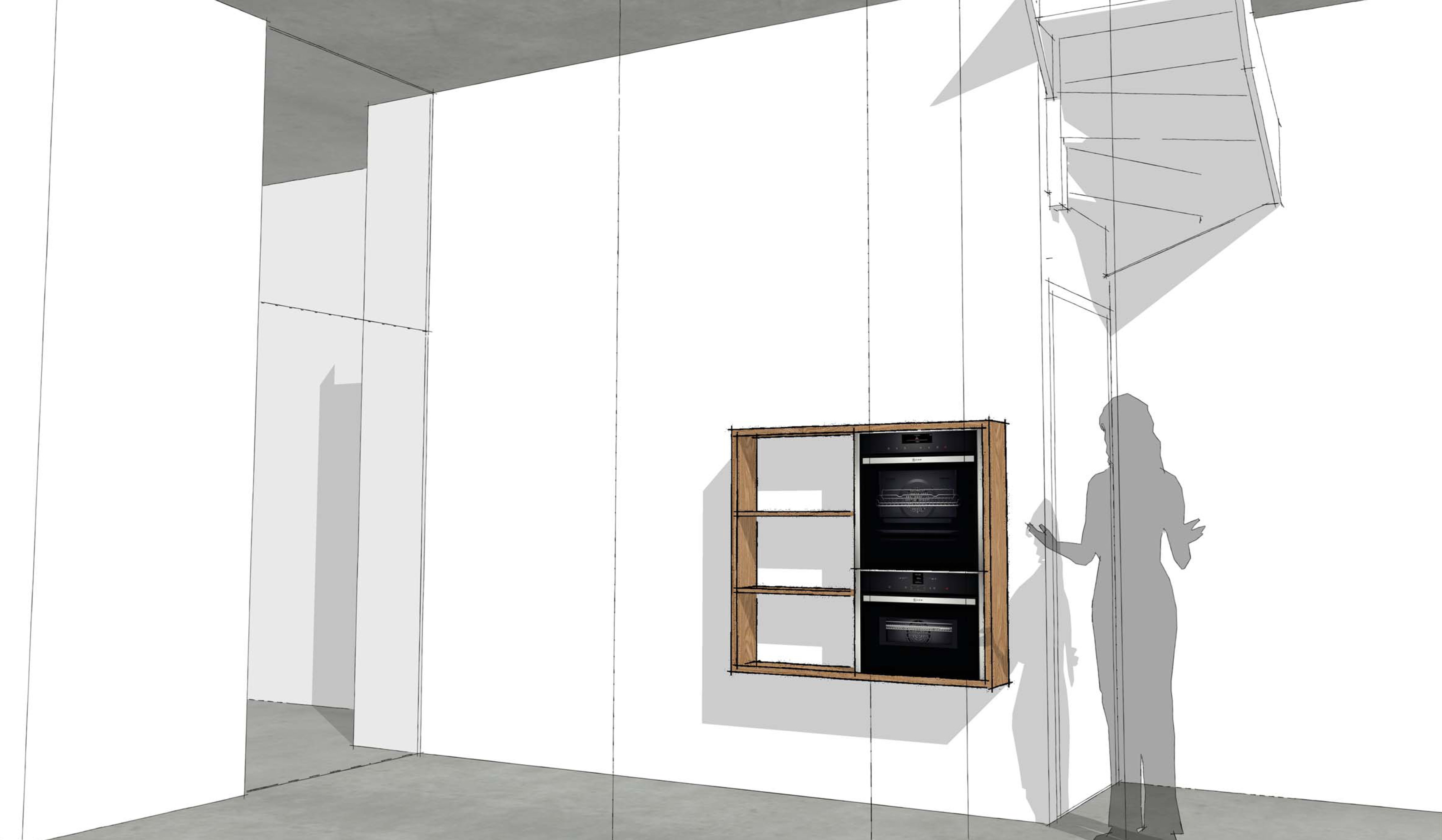 Houten keuken te breda studio sool - Redo keuken houten ...