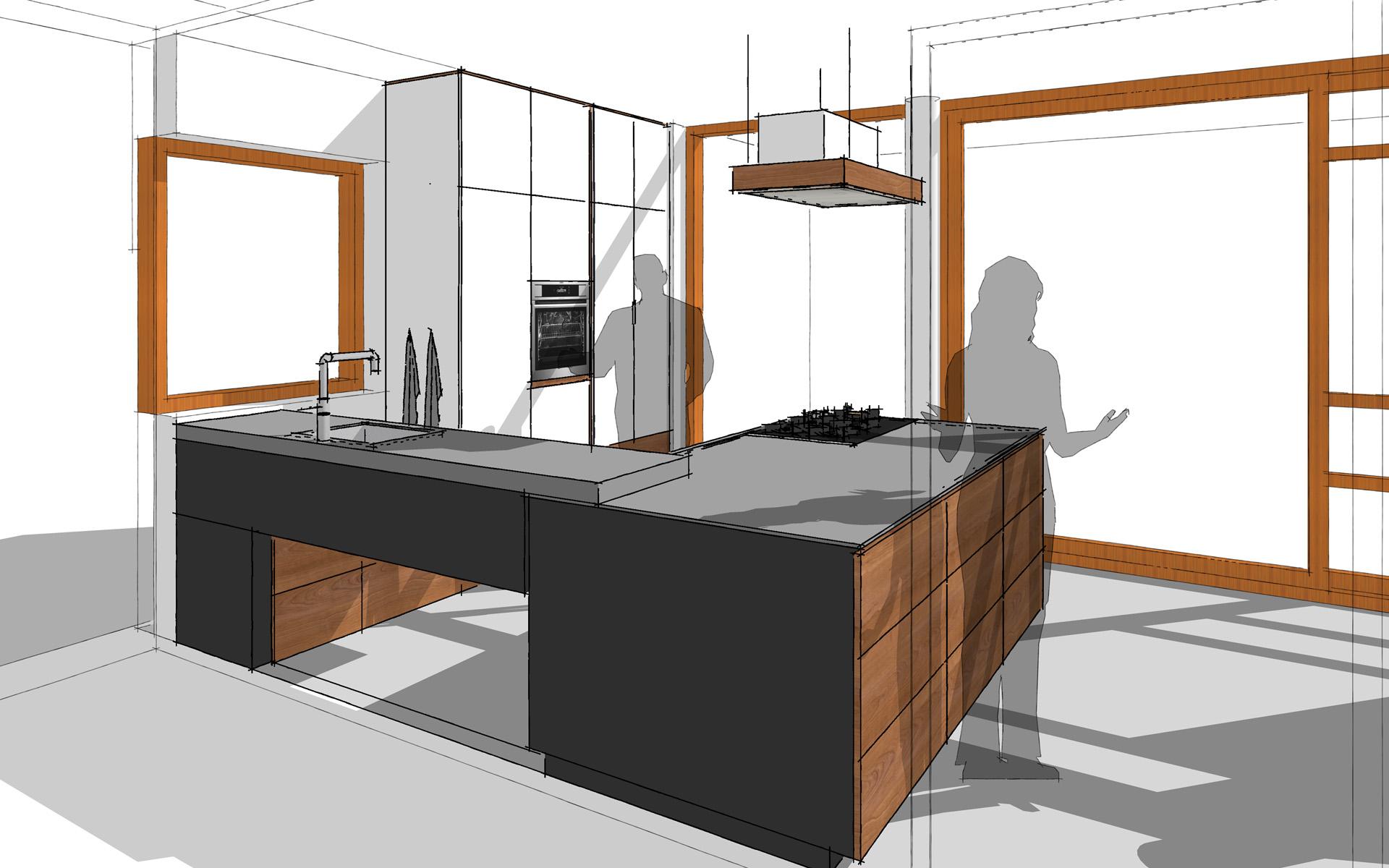 Houten keuken te groningen studio sool meubels - Meubels studio keuken ...