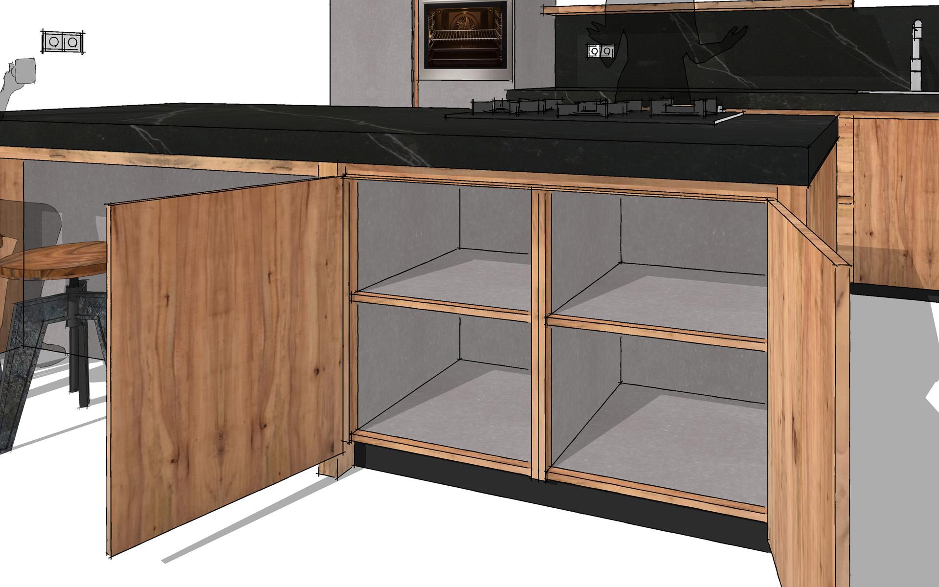 Eiken Keuken Enter : Keuken van Appelhout te Bovensmilde Studio SOOL