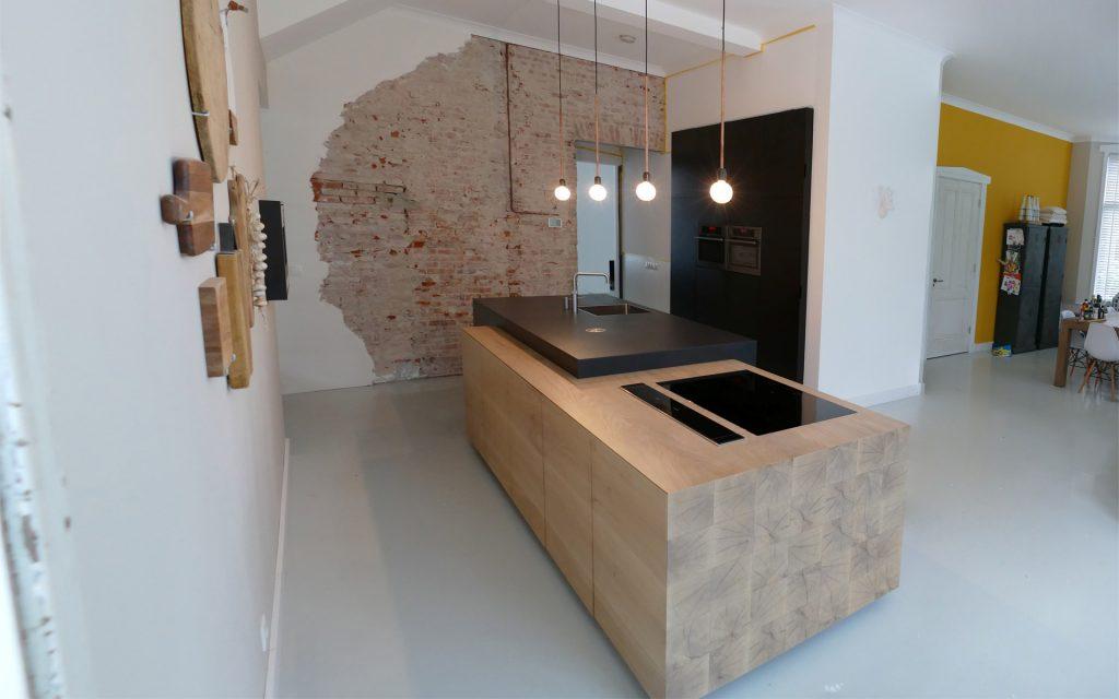 Eiken keuken te vries opgeleverd studio sool meubels - Meubels studio keuken ...