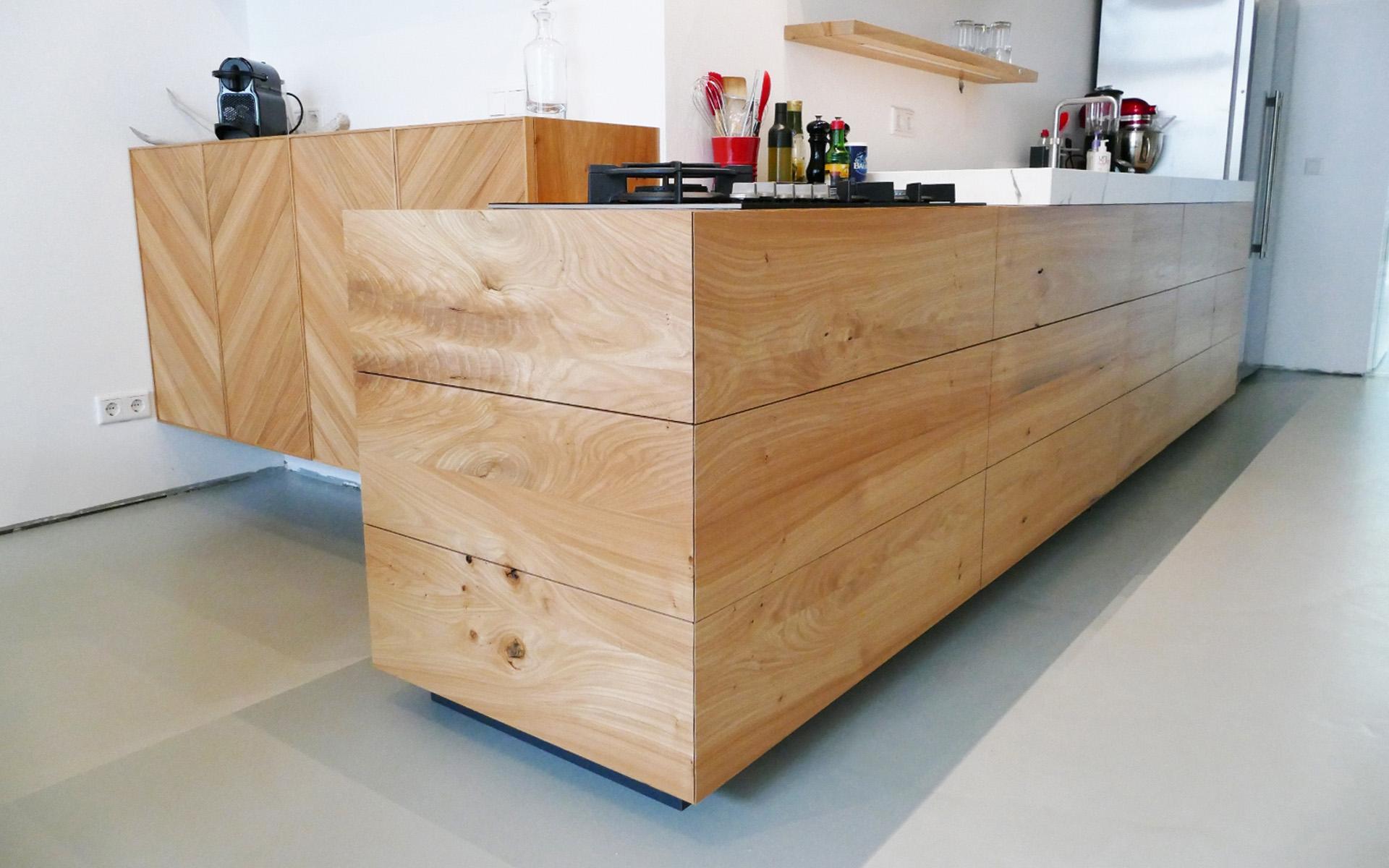 Iepenhouten keuken te breda studio sool - Meubels studio keuken ...