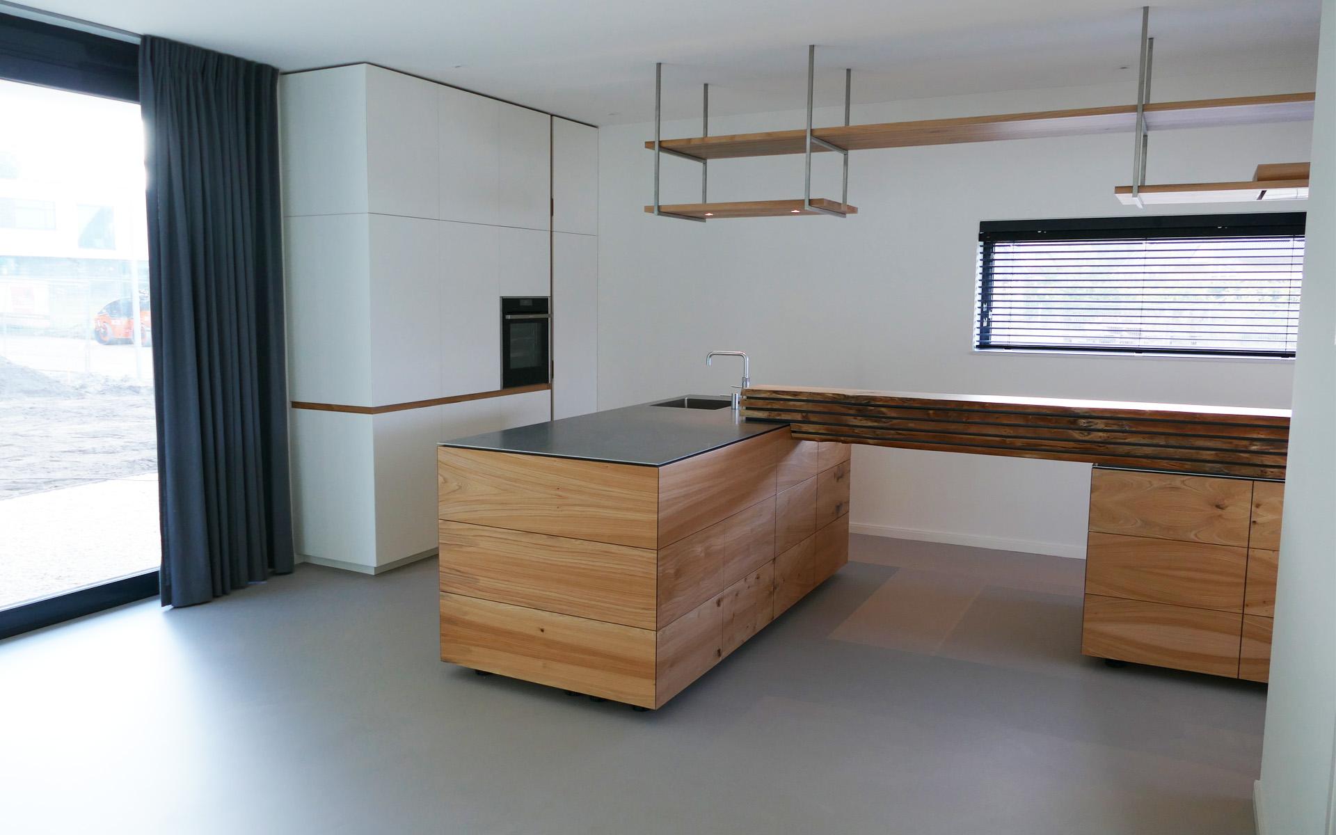 Iepenhout keuken te groningen opgeleverd studio sool meubels - Meubels studio keuken ...