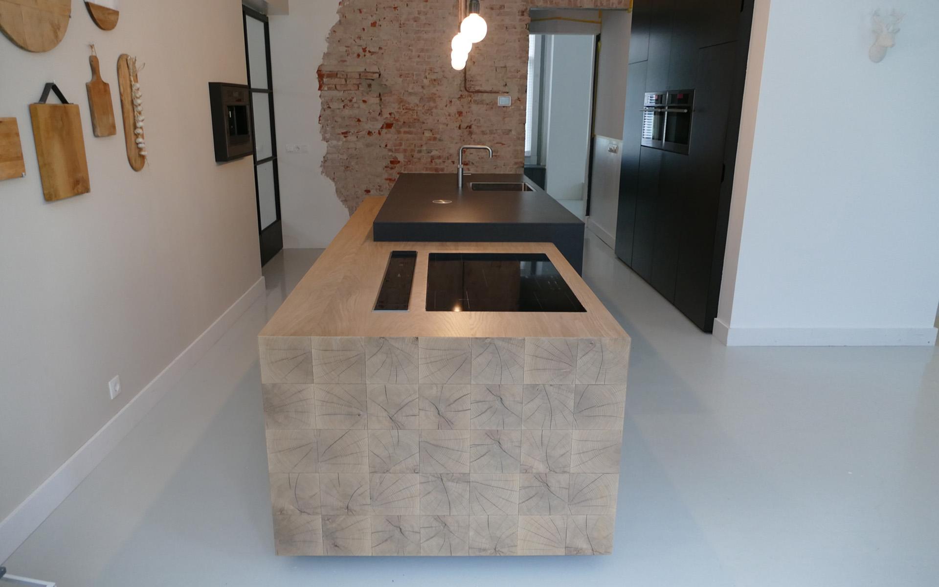 Eikenhout In Keuken : Eiken keuken te Vries Studio SOOL