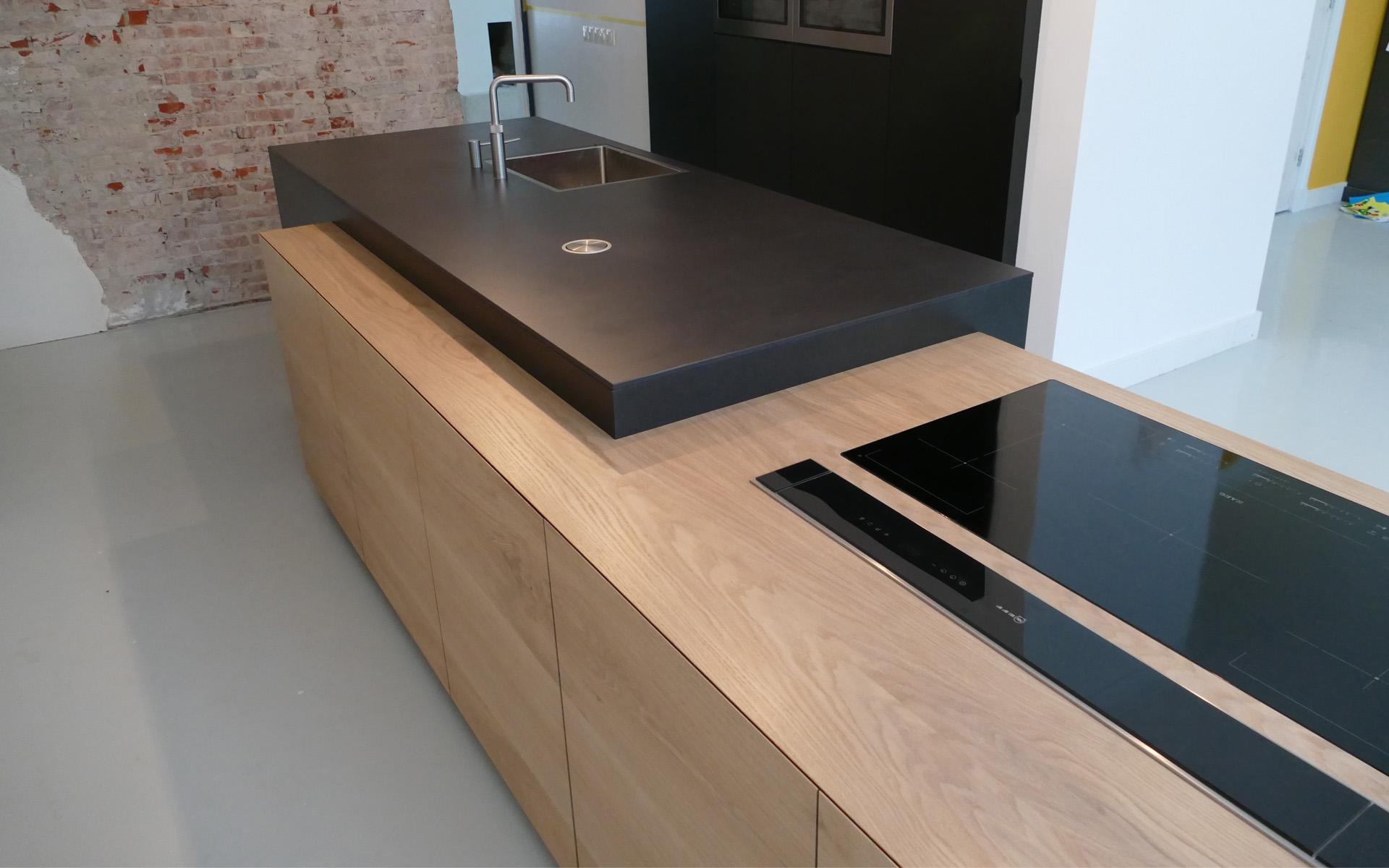 Eiken keuken te Vries Studio SOOL