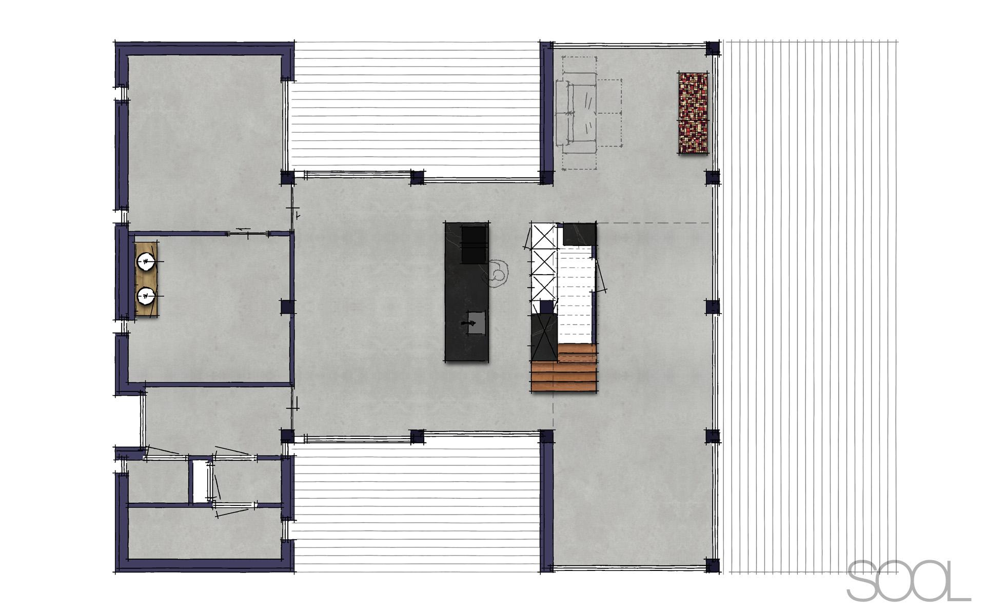 Kersenhouten keuken te groningen studio sool - Meubels studio keuken ...