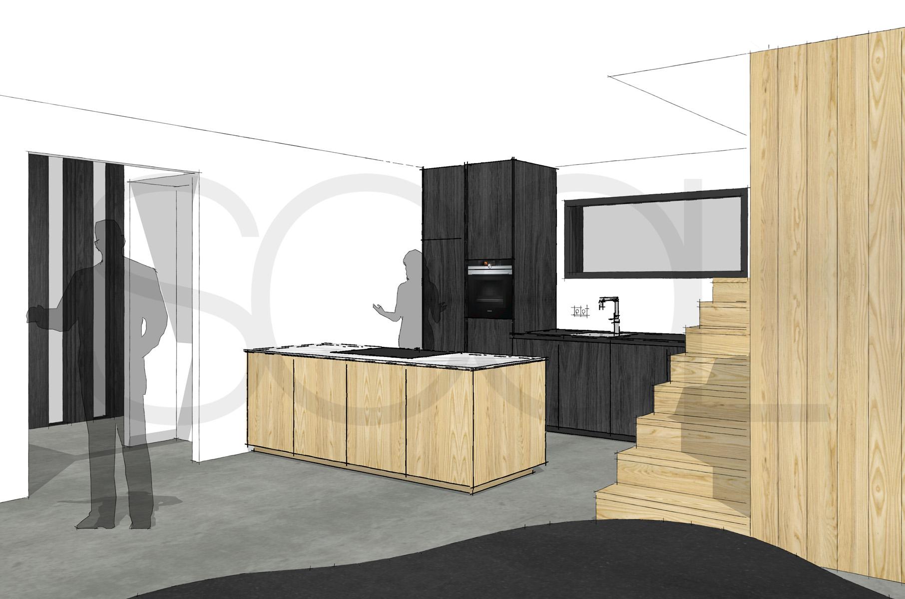 Design Keuken Groningen : Essenhout keuken te peize groningen 01 studio sool