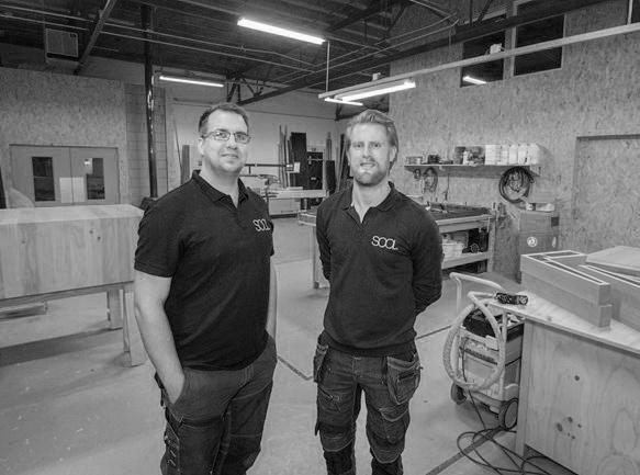 Studio SOOL - Bart Bakker (l) Mark Bakker (r) zw